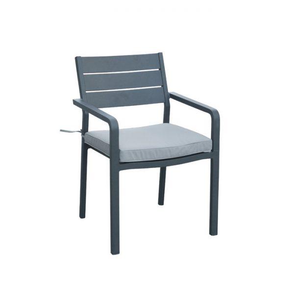 Barolo dining chair grey