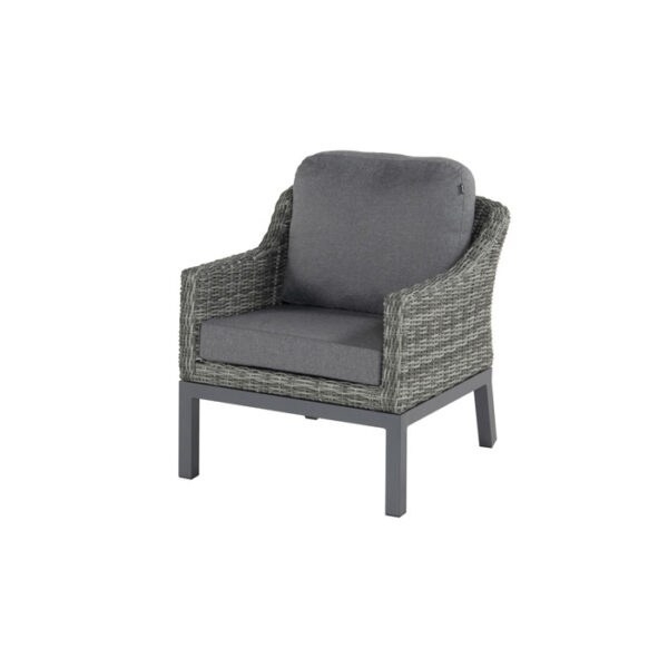 CAIRO LOUNGE CHAIR SILVER GREY