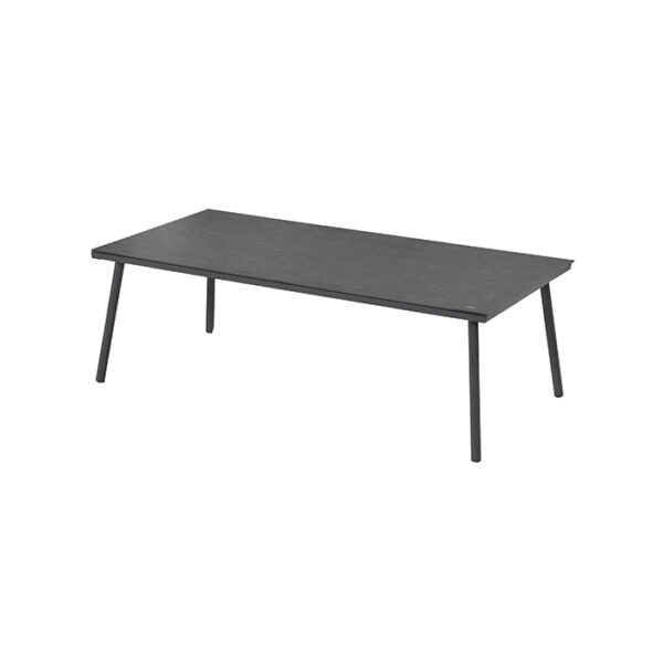 CATALONIA COFFEE TABLE 140X70X46CM ALU CHARCOAL