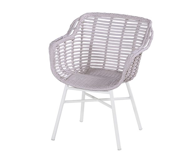 CECILIA DINING CHAIR WHITE