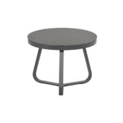 CESTELLI SIDE TABLE ROUND 60CM CHARCOAL