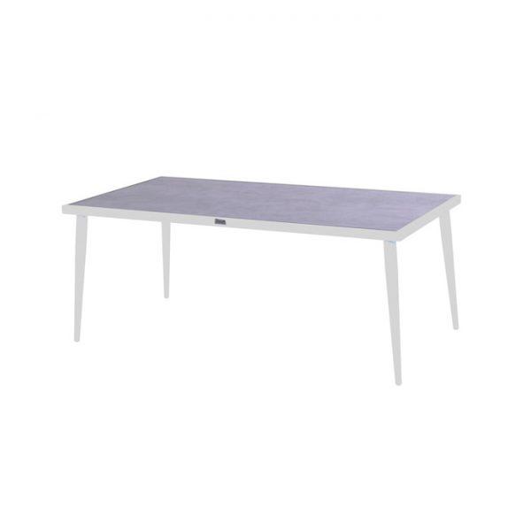 CONSTANTINE CERAMIC TABLE 184X94CM WHITE