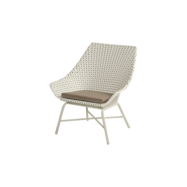 DELPHINE LOUNGE CHAIR MOCCACINO