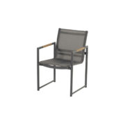 FONTAINE DINING CHAIR CHARCOAL