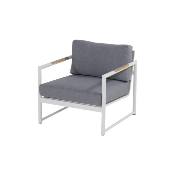FONTAINE LOUNGE CHAIR WHITE