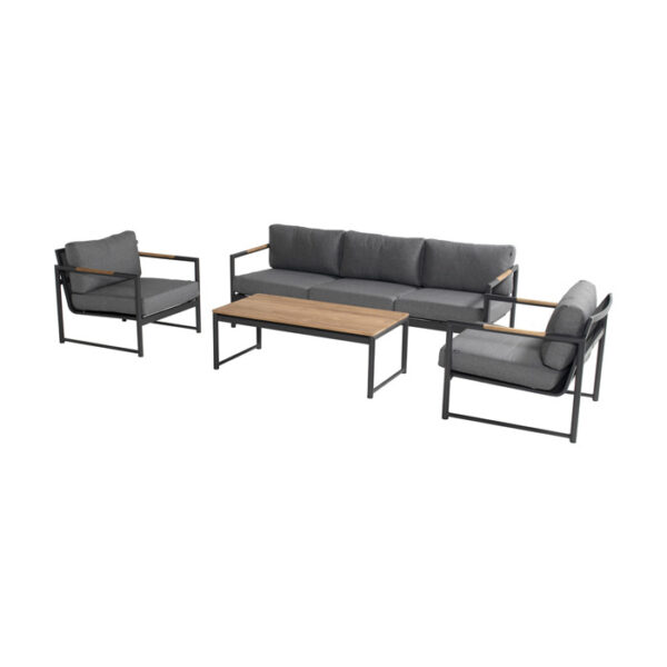 FONTAINE LOUNGE SET CHARCOAL