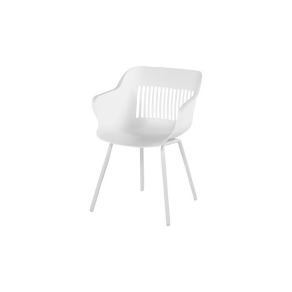 JILL SHELL DINING WHITE