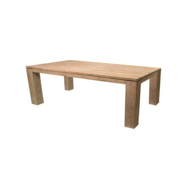 SCULPTURE TABLE 240X100CM TEAK