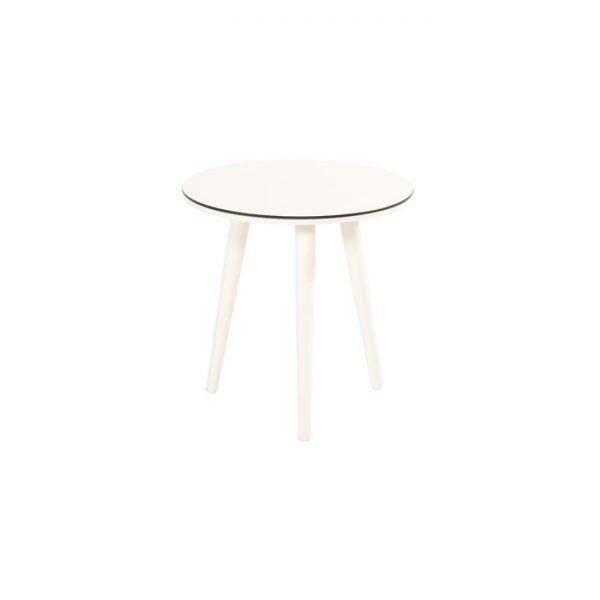 SOPHIE SIDE TABLE R 45CM WHITE HARTMAN