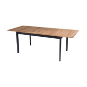 SOUTHWALES EXTENTABLE TABLE WITH TEAK TOP