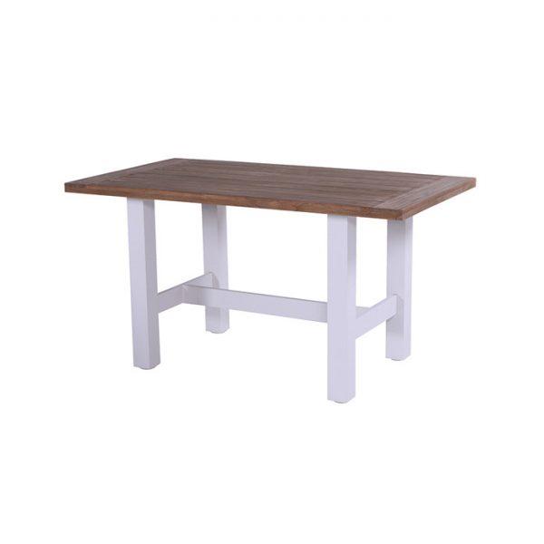 YASMANI BAR TABLE 180X100CM WHITE TEAK
