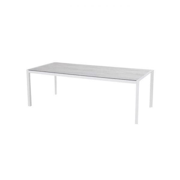 california table 225x100cm white hpl