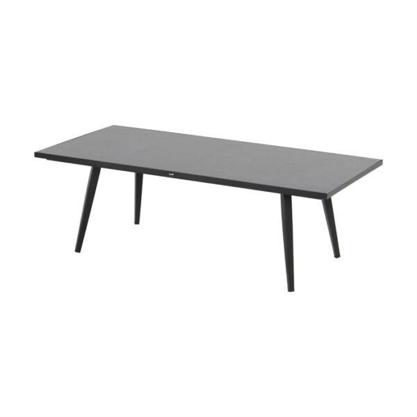 santorini coffee table 150x70x50cm black