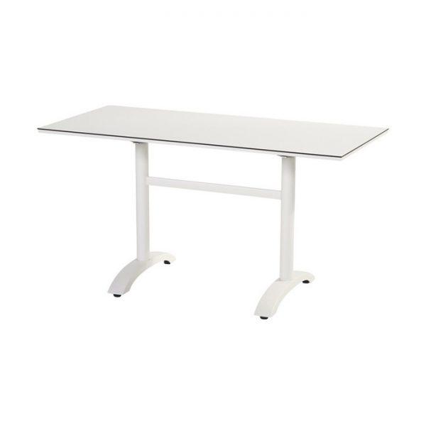 sophie bistro table 136x68cm white