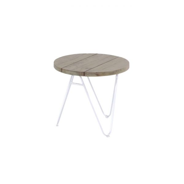 sophie full moon 50cm light grey teak