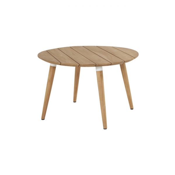 sophie table r 120cm teak white